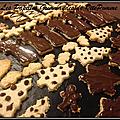 Biscuits à la noix de coco et chocolat