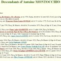 Montocchio Antoine_Descendants