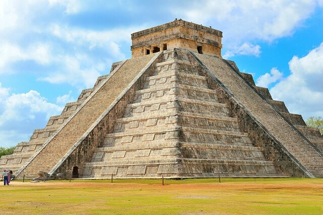 Pyramide Chicheniza, le-castillo-Mexique