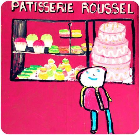 la pâtisserie Roussel