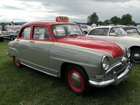 SIMCA Aronde Taxi 1953 Retro meus Auto Lac de Madine 2010 1