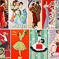 🌟 noël, jadis # 3 : carte de voeux vintage