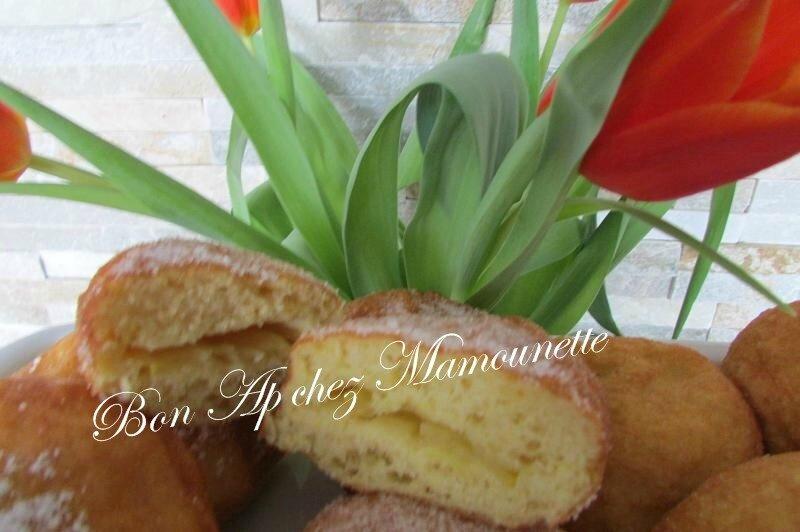 beignets farine et polenta à la pomme du verger 031
