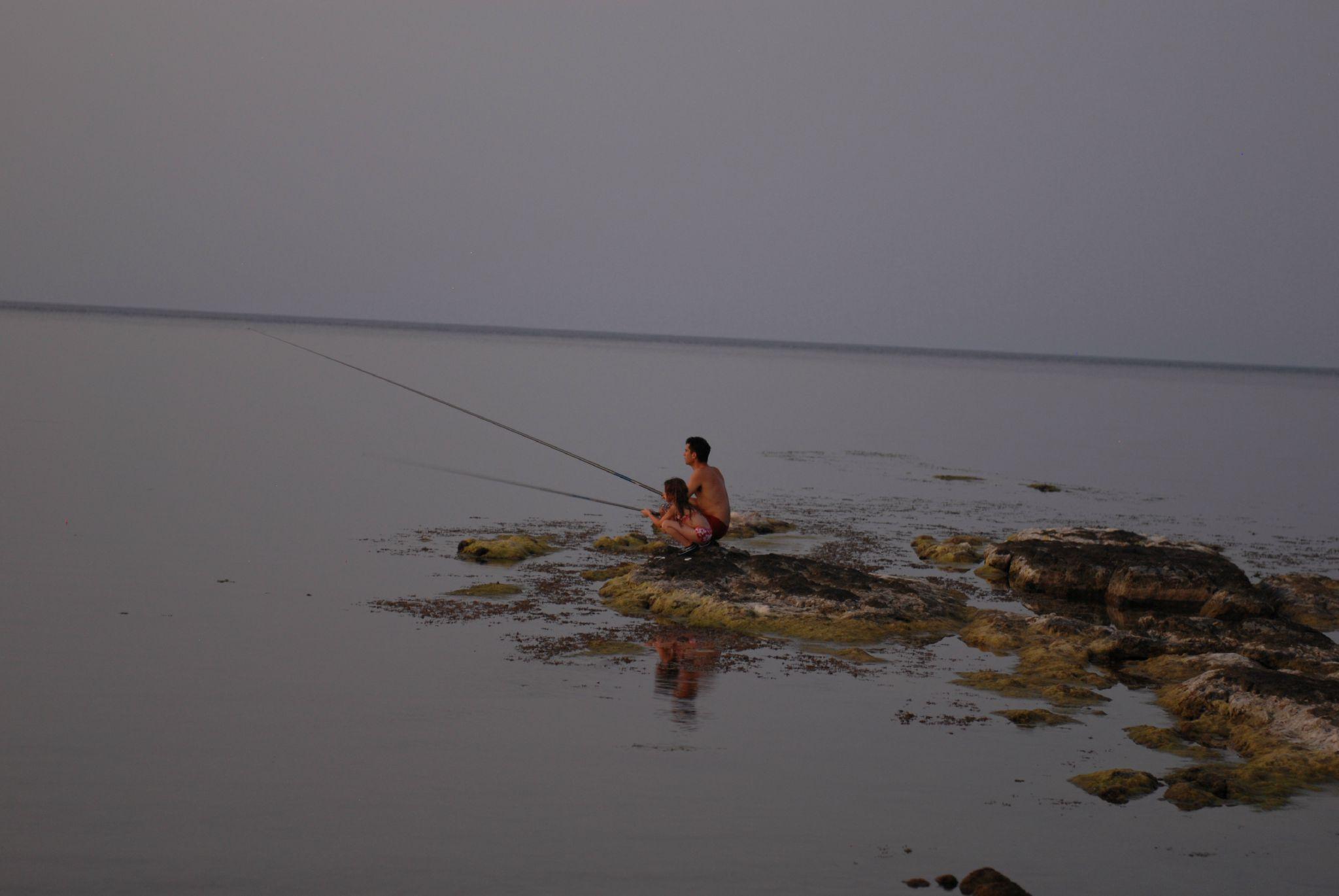Pêche dans la mer noire