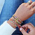 Faire des bracelets en perles parfait pour offrir un petit cadeau personnalisé