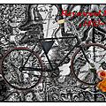 À bicyclette du côté de la frontière suisse.
