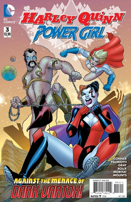 new 52 harley quinn and power girl 03