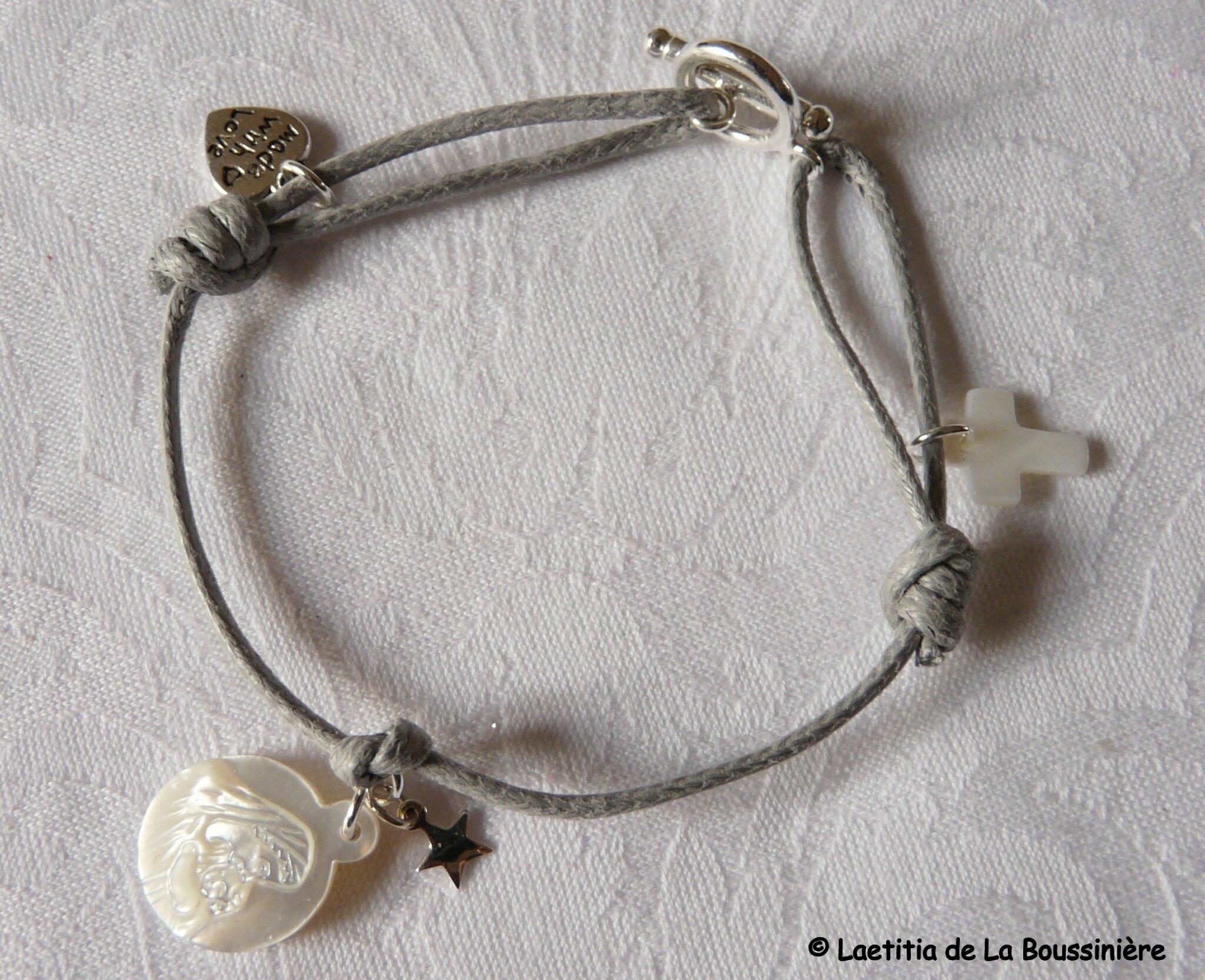 Bracelet Vierge à l'étoile