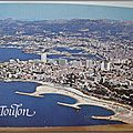 Toulon - le Mourillon - le port - datée 1987