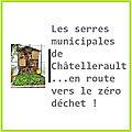 Les serres municipales de Châtellerault