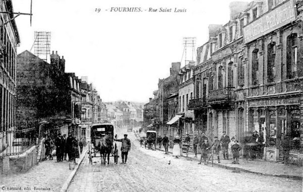 FOURMIES-Rue Saint-Louis1