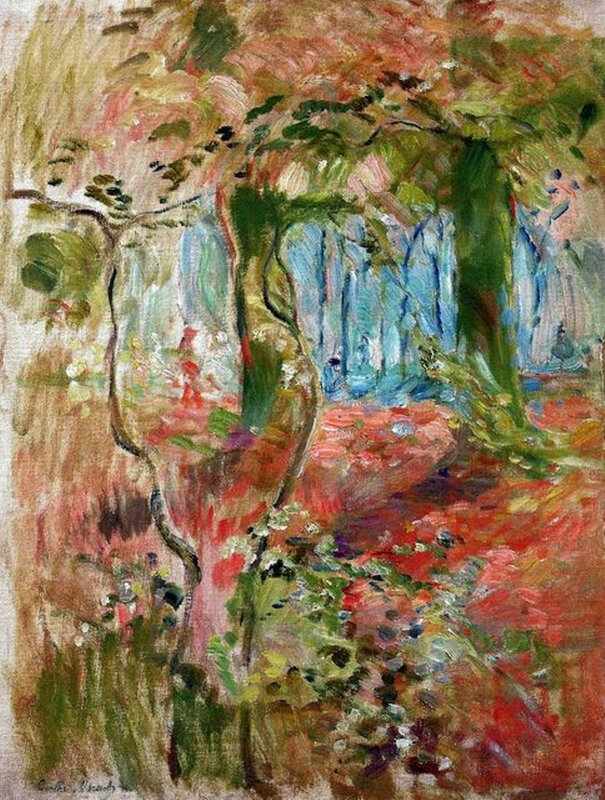 A6 Berthe Morisot Undergrowth in the Fall 1894