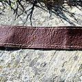Nouveau bracelet en cuir