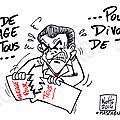 Sarkozy et le mariage pour tous.