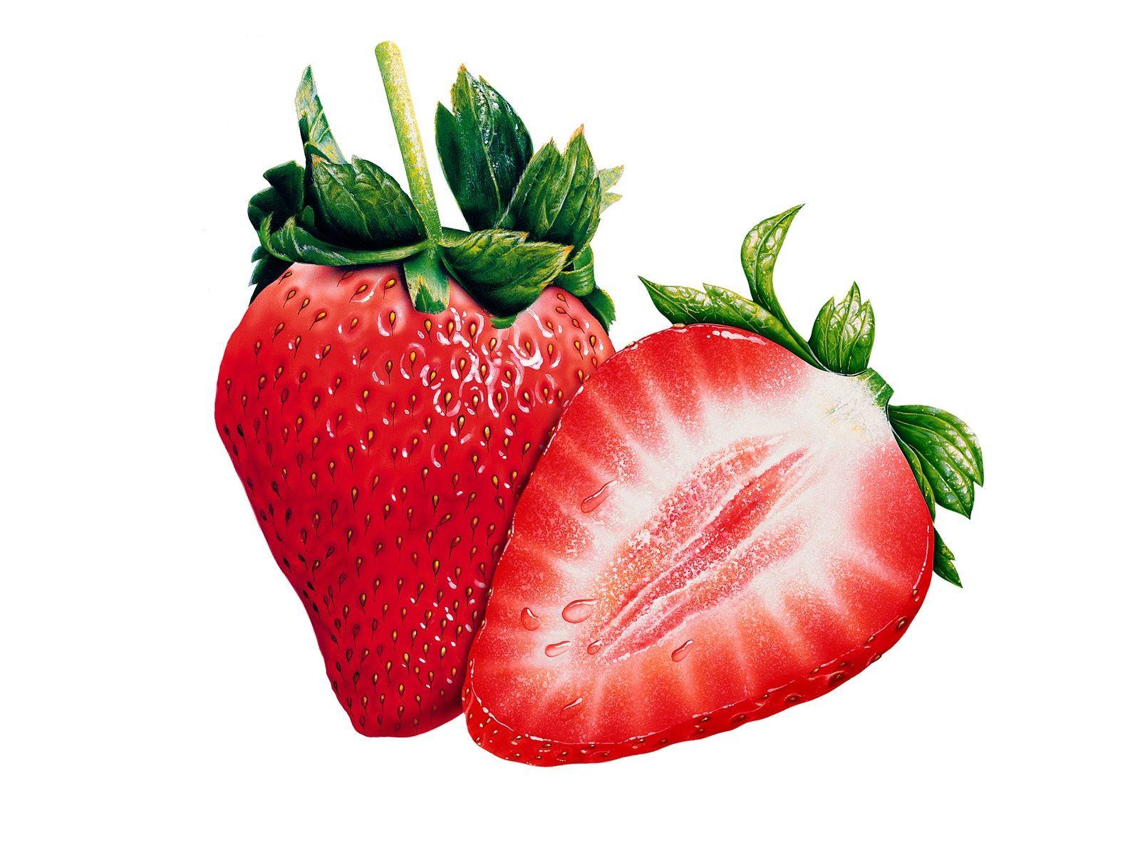 masque anti rides à la fraise - les bienfaits de la nature