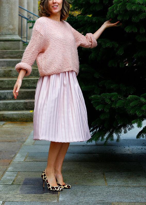 Tuto: Comment coudre une jupe plissée midi pour les fêtes