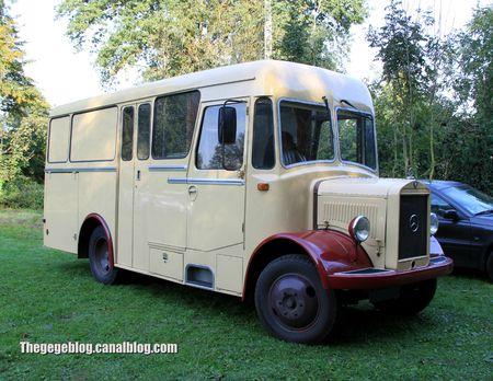 Mercedes camping car (30 ème Bourse d'échanges de Lipsheim) 01
