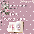 Bon week-end du 26 janvier 2019