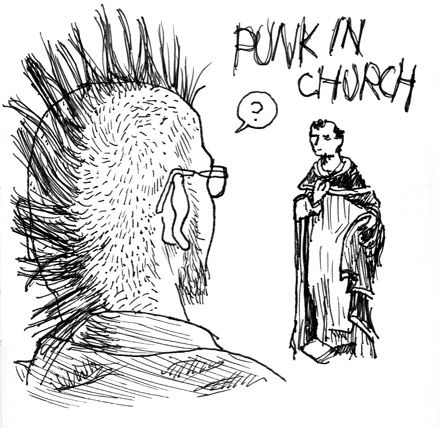 Punk_in_church