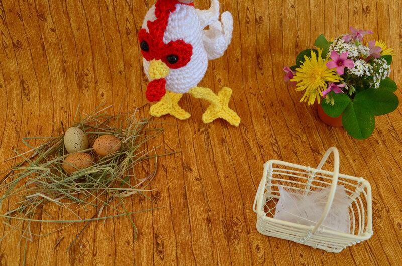 Coco masqué-coq crochet-amigurumi-laine-La chouette bricole-Pas à pas de chat (2)