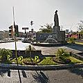 Rond-point à colima (mexique)