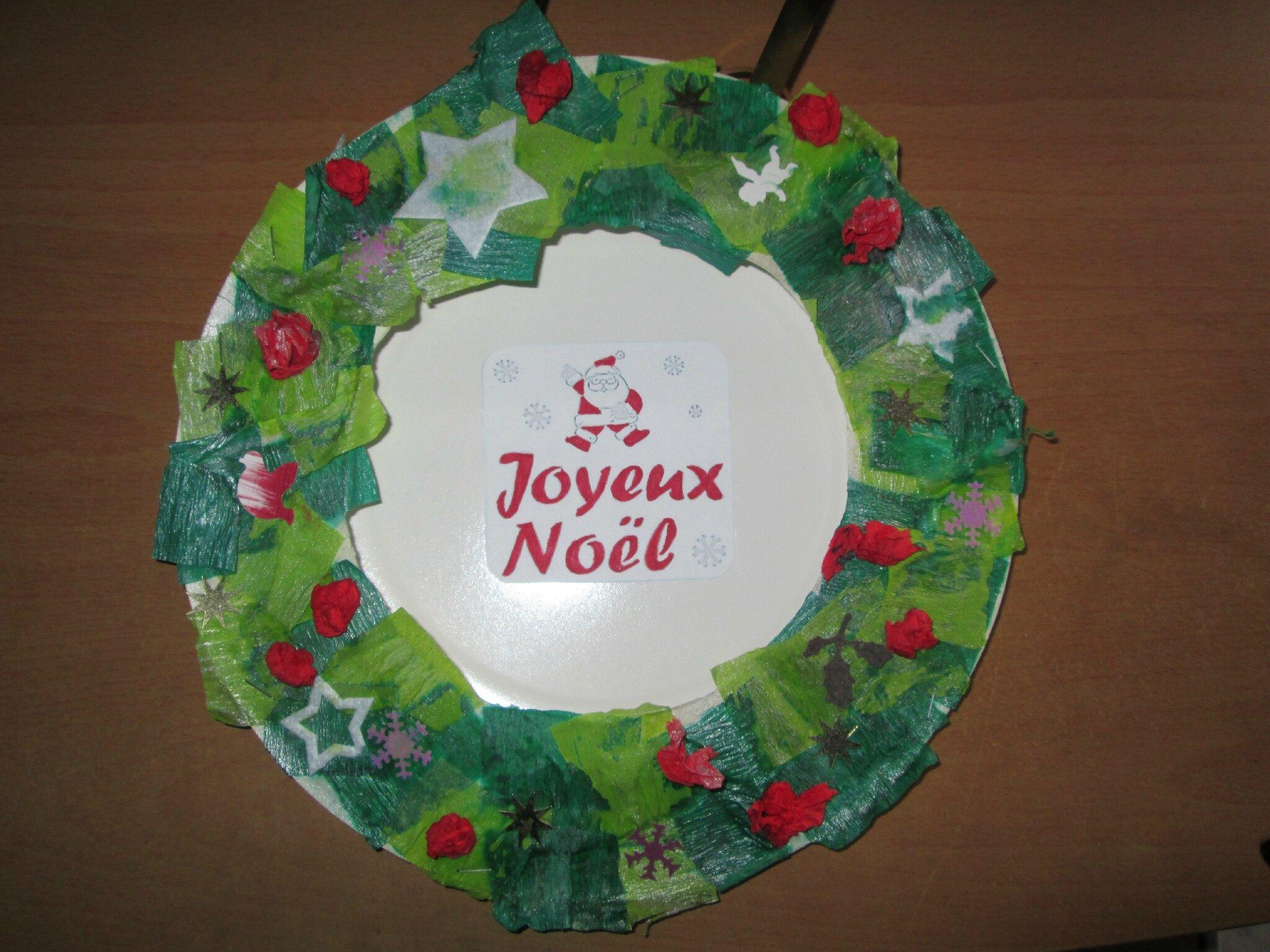 Couronne De Noël Ca Vous Intéresse