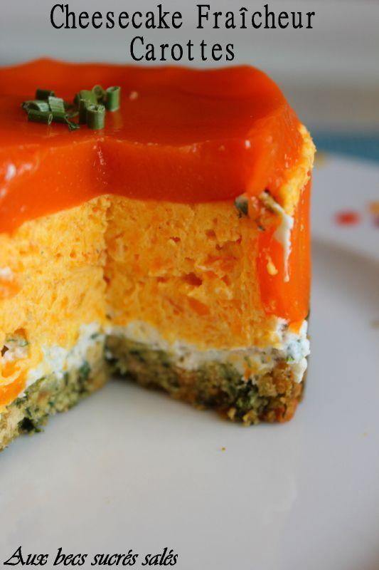Cheesecake Carotte1