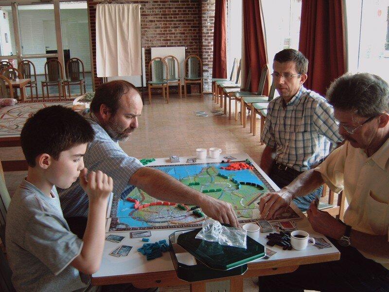 tournoi Aventuriers du Rail 29 avril 2007