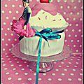 Cupcake géant { giant cupcake } -