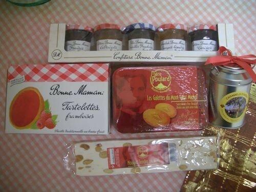 Gâteries de la France... Miam miam