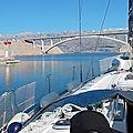 Croisière en voilier en croatie, découverte de la dalmatie et de l'istrie du 21 au 28 octobre 2017. sailboat cruise in croatia