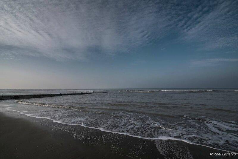 Coxyde mer du nord ce Dimanche enfin un peu de soleil ) (1)
