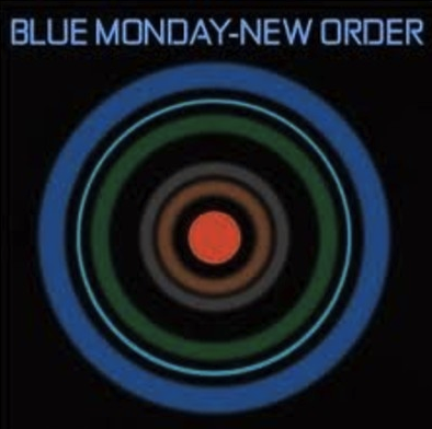 New Order Blue Monday 1983 label factory