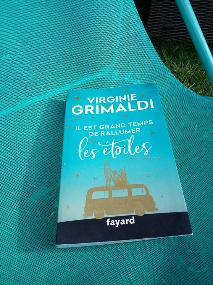 J'ai lu le dernier Virginie Grimaldi : Il est grand temps de rallumer les étoiles