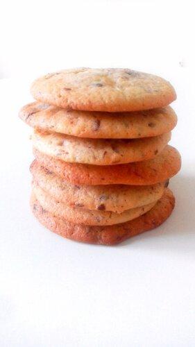 Cookies aux chunks de chocolats noirs et blancs
