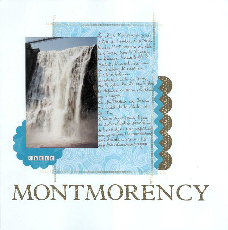 Chute montmorency-Québec