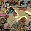 Pour Katédine (timbres vaches)