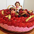 Délices aux fraises