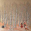 La forêt en liesse