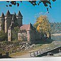Lanobre chateau de Val
