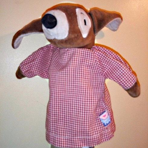 Jack Russel marionnette