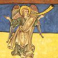[ange a la trompette] iconographie médiévale