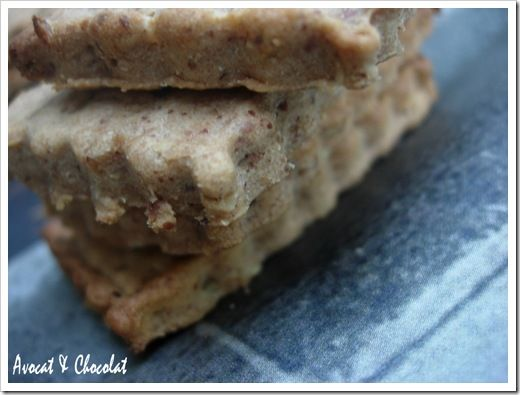 Biscuits à la confiture de lait amande-noisettesl