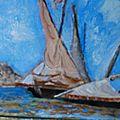 mes peintures a l'huile