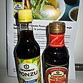 Kikkoman et sa sauce soja citronnée ponzu une nouveauté