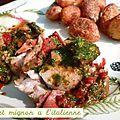 Filet mignon à l'italienne