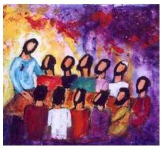 Discours de Jésus ressuscité à ses disciples, Berna Lopez