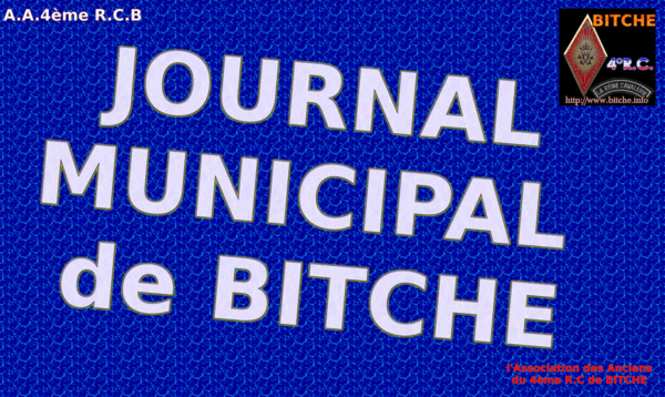 JOURNAL MUNICIPAL de BITCHE 001