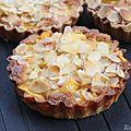 Tartelettes mangue- crème d'amandes {recette}