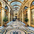 Flâneries du palais royal aux passages couverts :durée 2h00